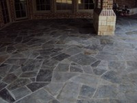 Slate patio | Champion Property Improvement