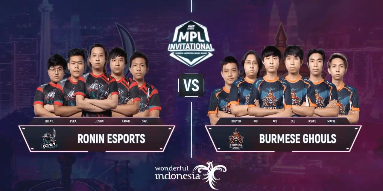 Hasil Playoff MPLI Match 3: Burmese Ghouls Melaju Ke Semi Final