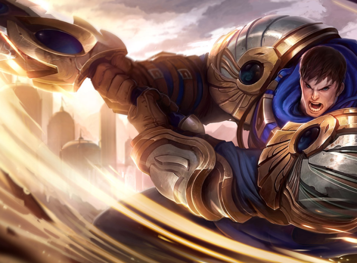 build garen lol wild rift terbaik