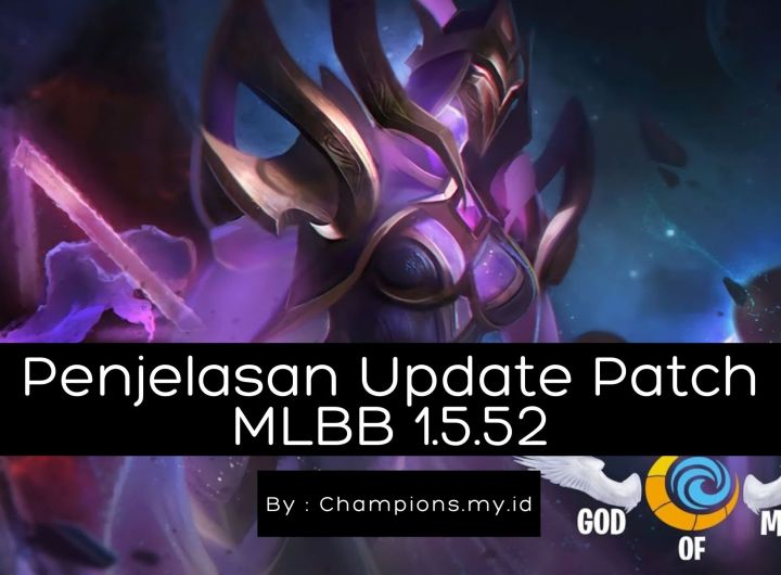 Update Patch Mobile Legends 1.5.52