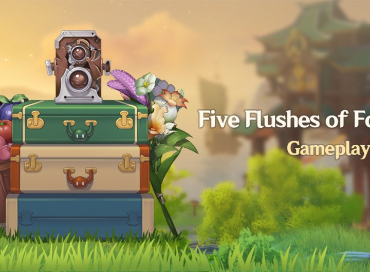 Blue Creature Genshin - Tips Mudah Bermain di Event Five Flushes of Fortune
