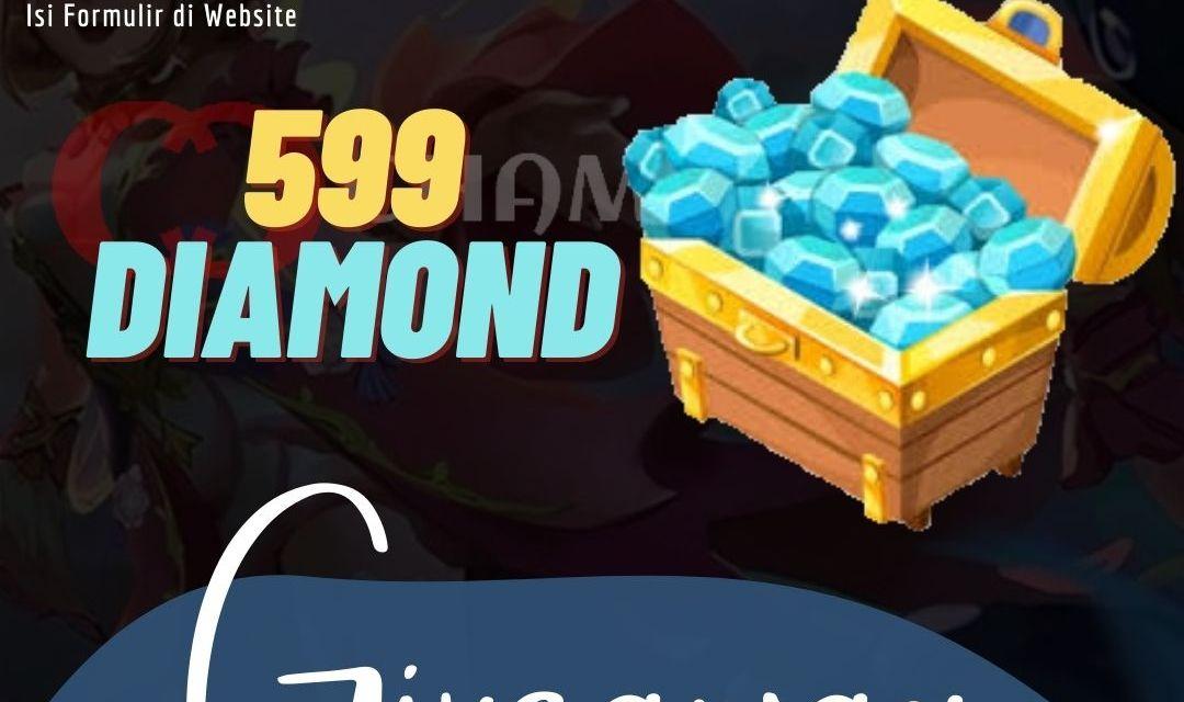 GIVEAWAY 599 DIAMOND MOBILE LEGENDS WEEK 2