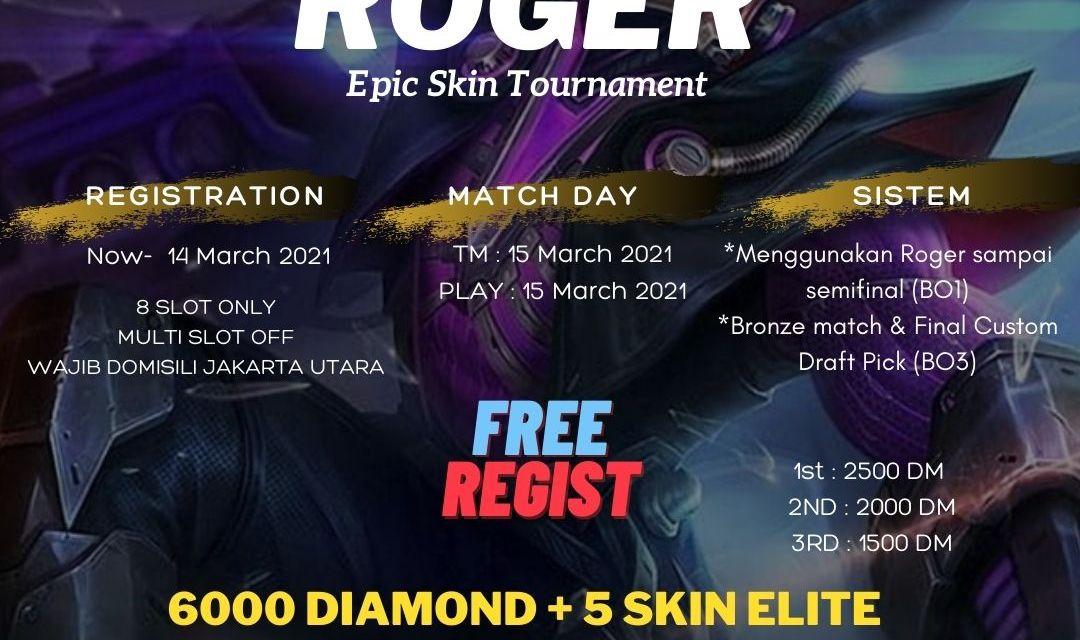 Dapatkan Mobile Legends Gift Skin Gratis Dengan Ikut Turnamen Gratis Kami!