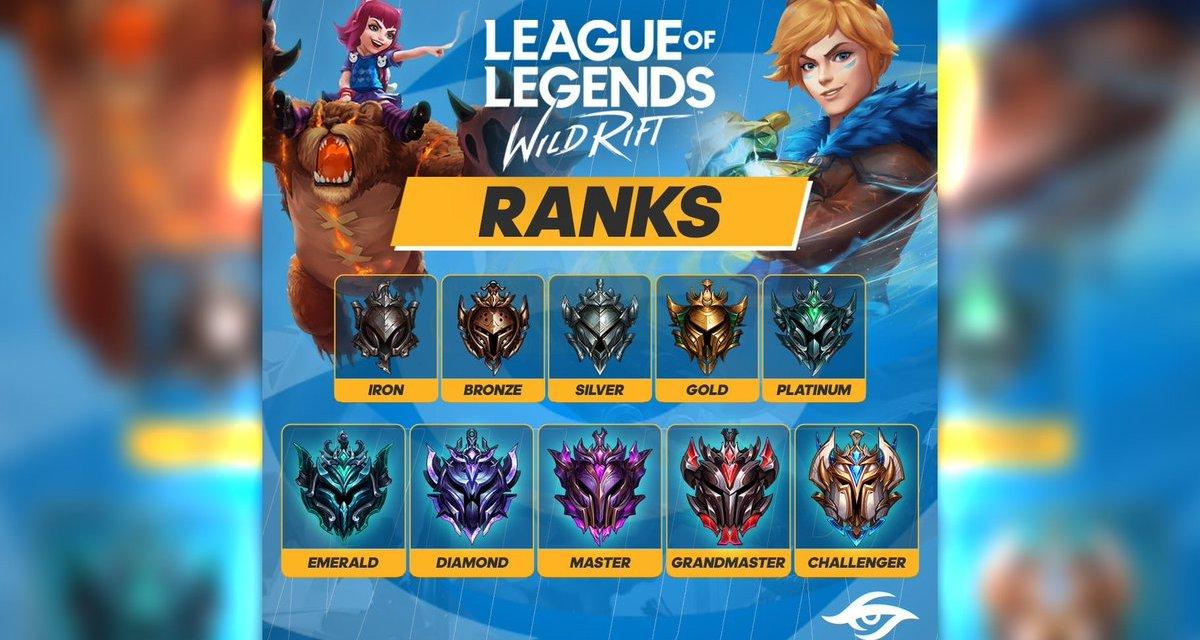 Rank League of Legends Wild Rift : Semua yang Perlu Diketahui