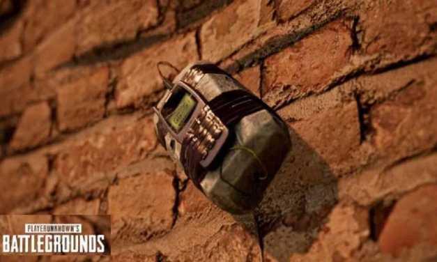 Sticky Bomb PUBG, Granat Baru PUBG Mobile 1.3