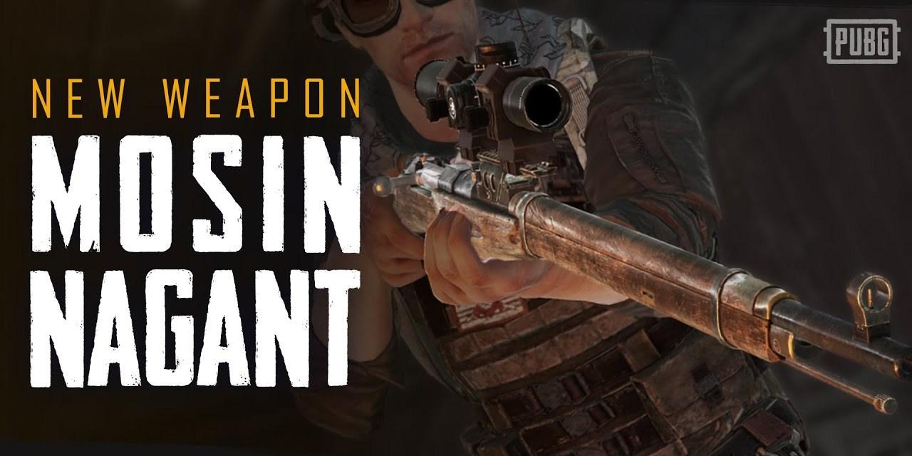 3 Senjata Sniper Terbaik di PUBG Mobile Setelah Datangnya Sniper Mosin Nagant