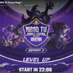Jadwal NMA Mobile Legends Season 3 Fase Group Stage