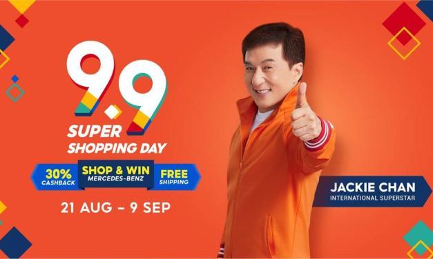 Jackie Chan Shopee, Brand Ambasador Platform Belanja Online Oranye Baru