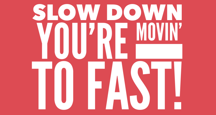 Speed Kills - How To Increase Speed