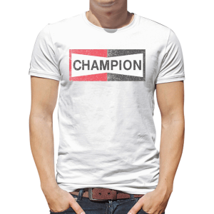 Best selling Look champion spark plug mens t-shirt - GST