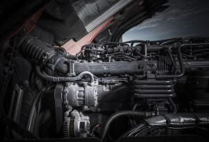 Car engine components.