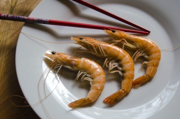 Singapore Chilli Prawns (Shrimp)