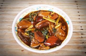 Green Chili Pepper Creamy Mushroom Soup