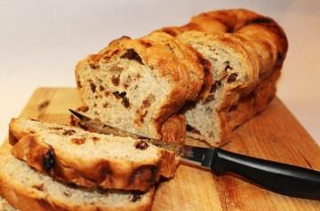 Orange Raisin Oatmeal Bread