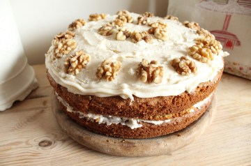 Sheep Wagon Cake (Carrot Cake)