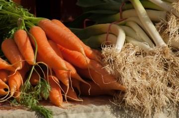 Sauteed Leeks and Carrots