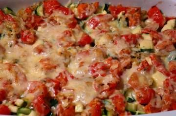 Cheddar Chicken and Peas Casserole