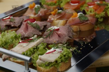 Bocadillo (spanish Ham and Cheese Sandwiches)