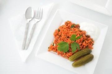 Authentic Tunisian Couscous Au Poulet