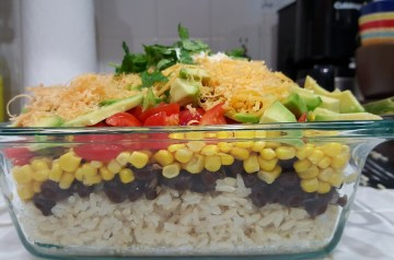 Spicy Caribbean Black Beans and Rice
