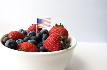 4th of July Fruit Parfait