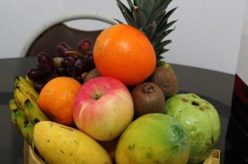 Fresh Mango Papaya Kiwi Salsa
