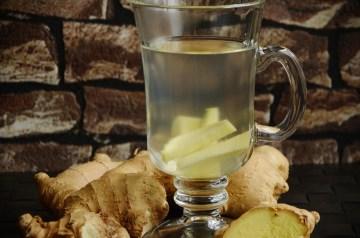 Healing Ginger Detox Tea With Turmeric