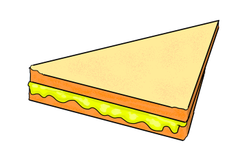 Double-Decker Grilled Cheese Sandwich