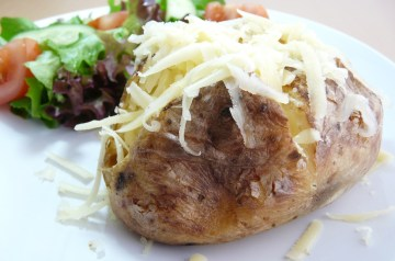 Baked Potato-Onion Wrap-Ups