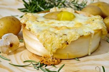 Lower-Fat Cream Cheese and Ricotta Stuffed Mushrooms