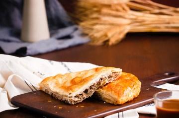 Cheddar Cheesy Meat Pie