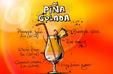 Pina Colada Cake (Non Alcoholic)