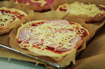 Chicken Barbecue Pizza Topping