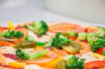 Healthy Greek Pizza