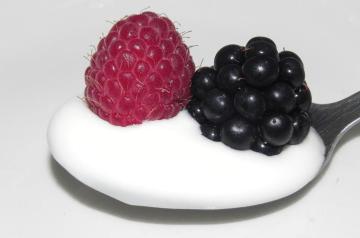 Lemon Raspberry Yogurt Muffins