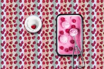 Raspberry Cream Crowdie