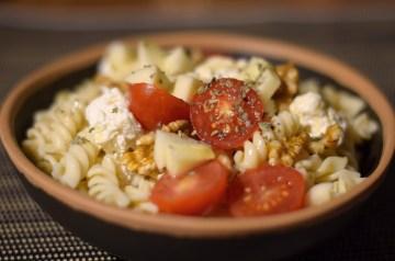 Russian Radish-Tomato-Mint Salad