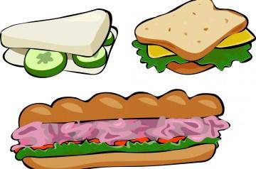 Pork Salad Sandwiches With Maple Dijon Dressing