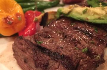 Skirt Steak Saltimbocca