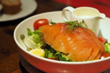 Smoked Salmon and Egg Salad Sandwiches