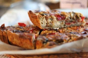 Tian a La Provencal (Rustic Vegetable Tart)