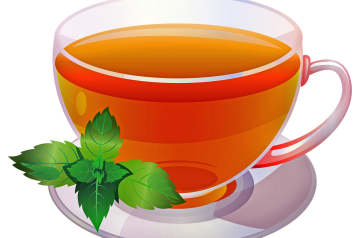 Lavender Mint Tea Hot or Iced for 2