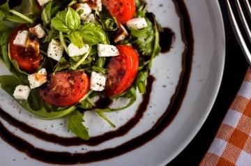 Cold Rice Mozzarella Ham Salad