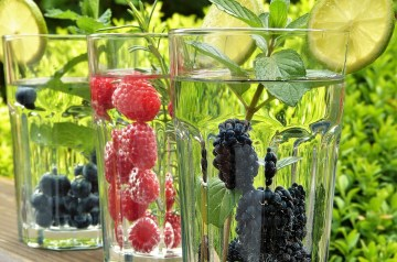 Lemon Blueberry Trifle (Sugar Free)