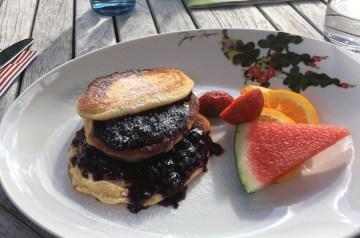 Crazy Delicious Blueberry Pancakes
