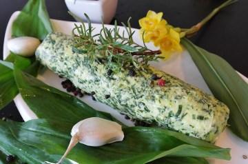 Garlic Cheese Herb Butter