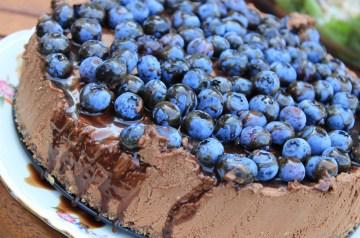 Blueberries N Cream Cheesecake