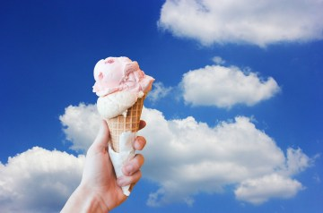 Lingonberry Ice Cream