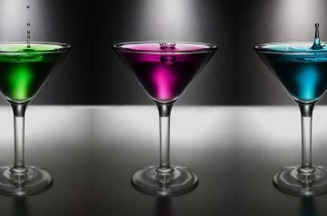 Absolut Hunk Vodka Martini