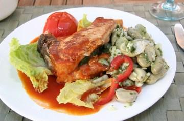 Moosewood White Bean and Tomato Salad